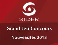 Grand Jeu Concours Sider – Nouveautés 2018