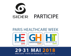 SIDER expose au PARIS HEALTHCARE WEEK 2018