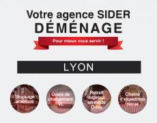 Votre agence SIDER de Lyon déménage